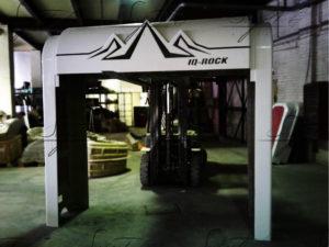 Скалодром производства Sagrit