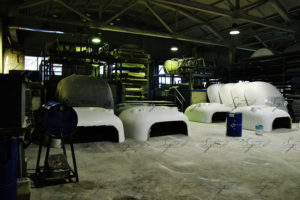 Фургоны из композитов производства Sagrit