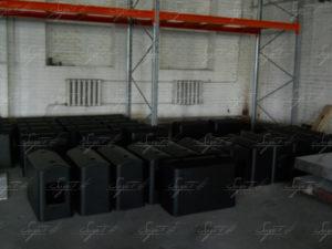 Подиумы стеклопластиковые на производстве